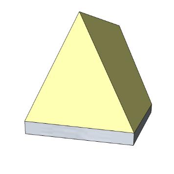 Panello fonoassorbente piramidale per camere anecoiche